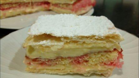 Torta diplomatica: la ricetta del dessert cremoso e semplice da preparare