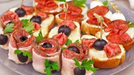 3 idee semplici e veloci con il salame: l'antipasto che sorprenderà i tuoi ospiti!