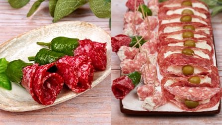 3 ideas with salami to make your appetizer really special!