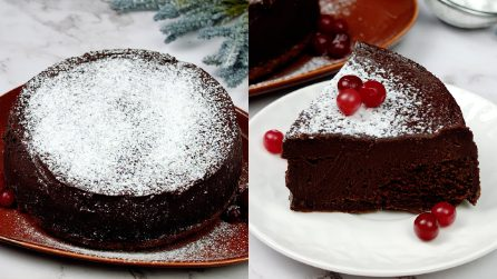 Flourless cake: a delicious cake ready with 4 ingredients!