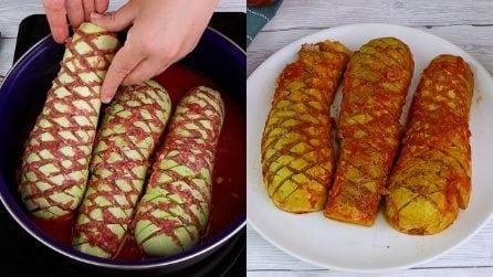 Stuffed zucchini: the soft and full tasty dish!