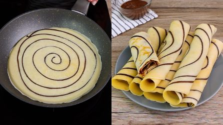 Black and white crepes: the treat that the whole family will love!