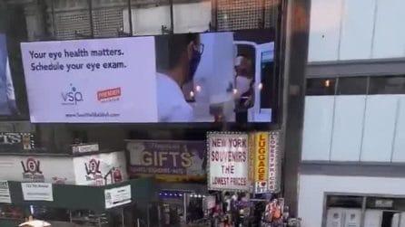 Usa, evacuata Times Square a New York per sospetto pacco bomba
