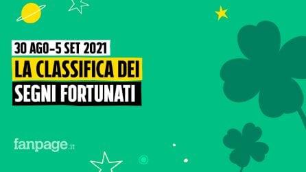 Oroscopo della settimana dal 30 agosto al 5 settembre 2021: la classifica dei segni fortunati