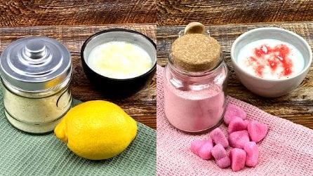 Zucchero al limone e alla fragola: il segreto per aromatizzare i tuoi dolci!
