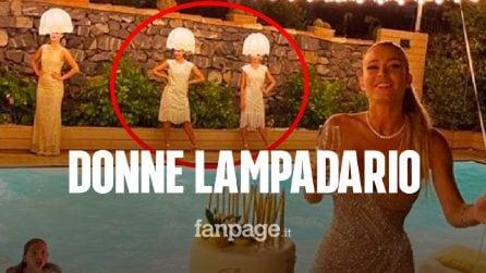 """Diletta Leotta e la festa di compleanno con le donne lampadario, scoppia la polemica: """"Riprovevole"""""""