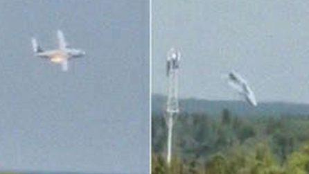 Russia, un aereo da trasporto militare cade ed esplode dopo un incendio