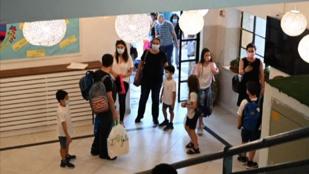 Ritorno a scuola in Israele, ma in 250.000 a casa per i contagi