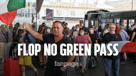 Flop No green pass, a Napoli si presentano in due