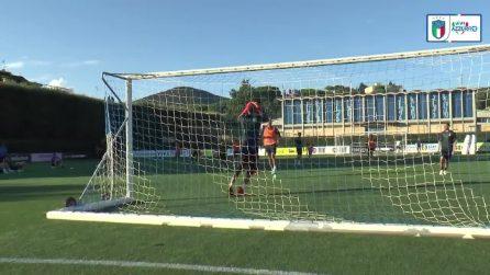 Primo allenamento a Coverciano per i Campioni d'Europa: l'Italia pronta a tornare in campo