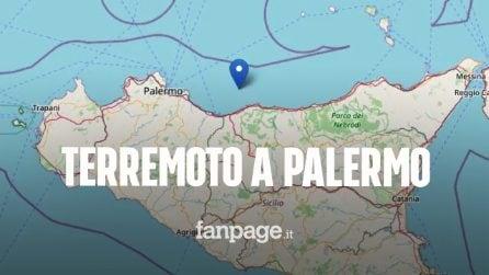 Forte scossa di terremoto a Palermo, paura tra i cittadini: magnitudo di 4.3