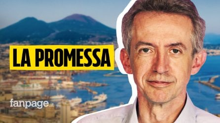 """La promessa di Gaetano Manfredi a Napoli: """"Riconquisterò il futuro della città"""""""