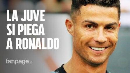 Cristiano Ronaldo, la Juventus si piega: minusvalenza di 14 milioni e pagamento a rate