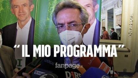 """Comunali, Gaetano Manfredi presenta il suo programma: """"Napoli non ha bisogno di assistenzialismo"""""""