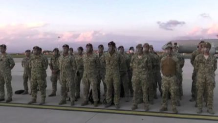 Afghanistan, atterrati a Ciampino gli ultimi militari italiani