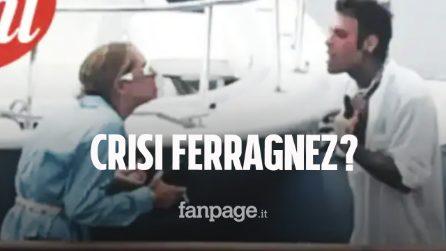 Lite furibonda tra Chiara Ferragni e Fedez, tutti i dettagli dello scontro in barca tra i Ferragnez