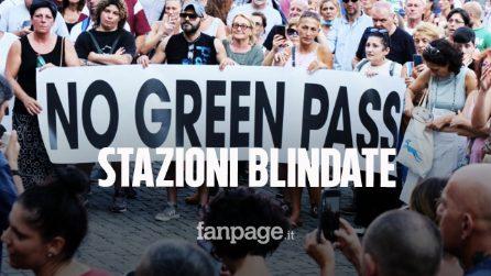 """Stazioni blindate contro le proteste dei """"No Green Pass"""", Lamorgese: """"Tolleranza zero"""""""