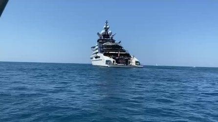 """All'Argentario c'è """"Nord"""", yacht di 142 metri, costato 500 milioni di dollari"""