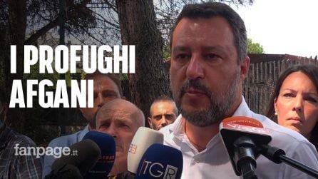 """Afghanistan, Salvini: """"Sì accogliere chi rischia, ma non svuotiamo il Paese delle migliori energie"""""""