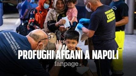 Napoli accoglie i profughi dall'Afghanistan: ospitati al Covid Residence dell'Ospedale del Mare