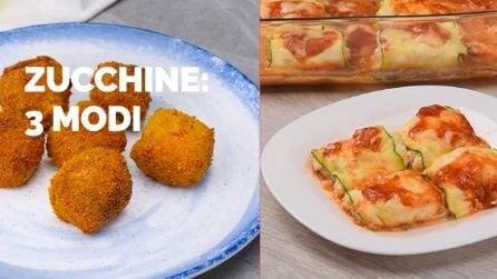 Zucchine: 3 modi da provare subito!