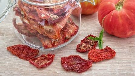 Come fare i pomodori secchi in casa