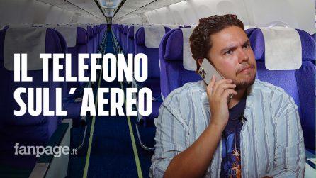 Perché non puoi telefonare in aereo