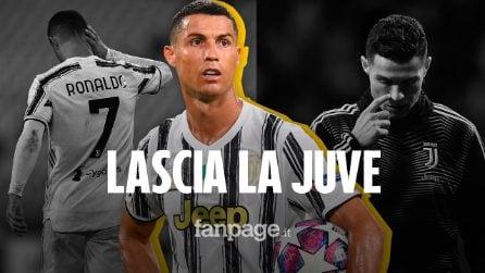Cristiano Ronaldo lascia la Juventus: i bianconeri perdono una macchina da gol e di record