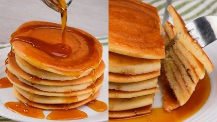 No kitchen scale pancakes: ready in no time!