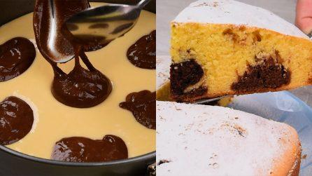 Torta a pois: il dolce bicolore semplice e veloce da preparare!