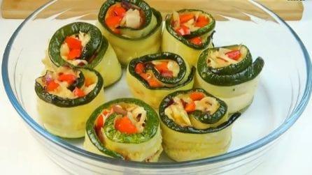 Girelle di zucchine: il contorno saporito e semplice da preparare