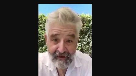 L'attore Fortunato Cerlino e il suo monologo sui no-vax