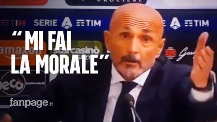 """Lite Spalletti-Allegri: """"È la prima volta che vinco e mi fai la morale"""""""