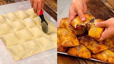 Quadrotti ripieni di carne: la ricetta ghiotta adatta per tutte le occasioni!