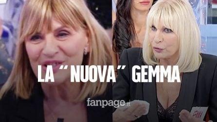 """Gemma Galgani con il seno rifatto, Tina Cipollari: """"Due palloni su un corpo decadente"""""""