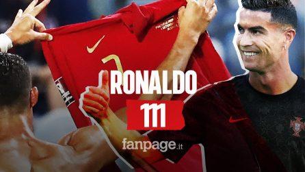 Cristiano Ronaldo diventa leggenda, con 111 gol in Nazionale supera Ali Daei