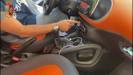 Roma, nascondeva la droga nell'auto: 27enne arrestato per spaccio