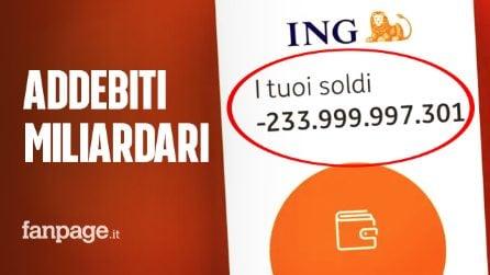 Conti bloccatie addebiti miliardari: terrore tra icorrentisti di Ing Italia