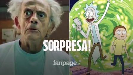 Christopher Lloyd è Rick nel promo di Rick and Morty, la serie diventerà un film?
