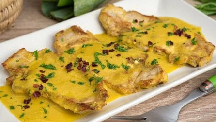 Fettine di maiale in salsa: la ricetta del secondo piatto da provare