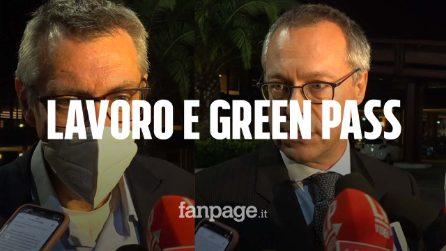 """Landini (Cgil): """"Tamponi gratuiti per Green Pass al lavoro"""". Confindustria: """"Non paghino le imprese"""""""