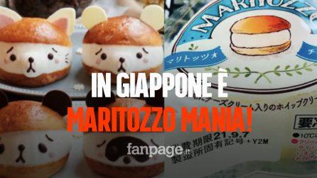 In Giappone è maritozzo mania: tutti pazzi per il dolce romano ripieno di panna
