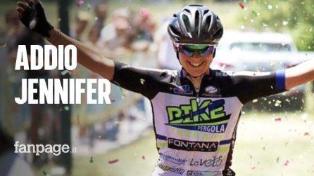 Morta a 35 anni Jennifer Fiori, l'ex ciclista vittima di un incidente in moto