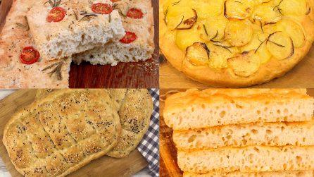 Focaccia: 4 ricette semplici e gustose!