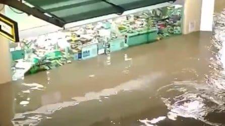Messico, l'acqua arriva fin dentro locali e abitazioni dopo le inondazioni