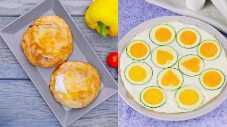 Idee gustose per veloce cena con le uova!