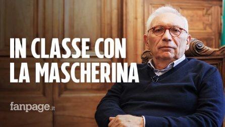 """Il ministro Bianchi a Fanpage.it: """"Mascherine per tutti e Green pass, così riparte la scuola"""""""