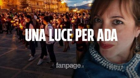 """Femminicidio a Bronte: candele accese per ricordare Ada Rotini. """"Servono leggi durissime"""""""
