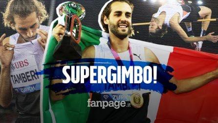 Gimbo Tamberi non si ferma più: trionfa anche nella Diamond League, è il primo italiano a riuscirci