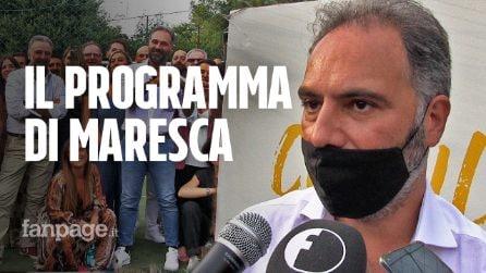 """Catello Maresca presenta il suo programma da sindaco di Napoli. """"Minacciato? Vado avanti"""""""